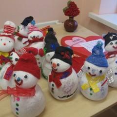 Bałwankowe ferie zimowe w bibliotece