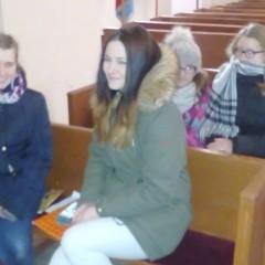 W ubiegłą niedzielę w naszym kościele schola ponownie zaśpiewała.