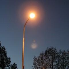 Dodatkowe oświetlenie uliczne.