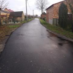 Remont drogi w Łazek – fotorelacja