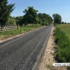 Zakończono budowę drogi do Pieszkowa oraz drogi w kierunku do Redlic.