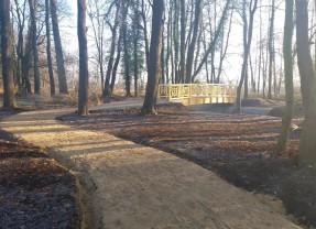 Informacja dotycząca planowanego monitoringu okolic parku w Niemstowie.