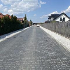 Zakończyła się budowa drogi wewnętrznej w Niemstowie na działkach nr 74/17 i 74/46.